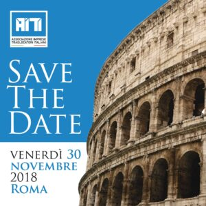 save the date Roma 2018